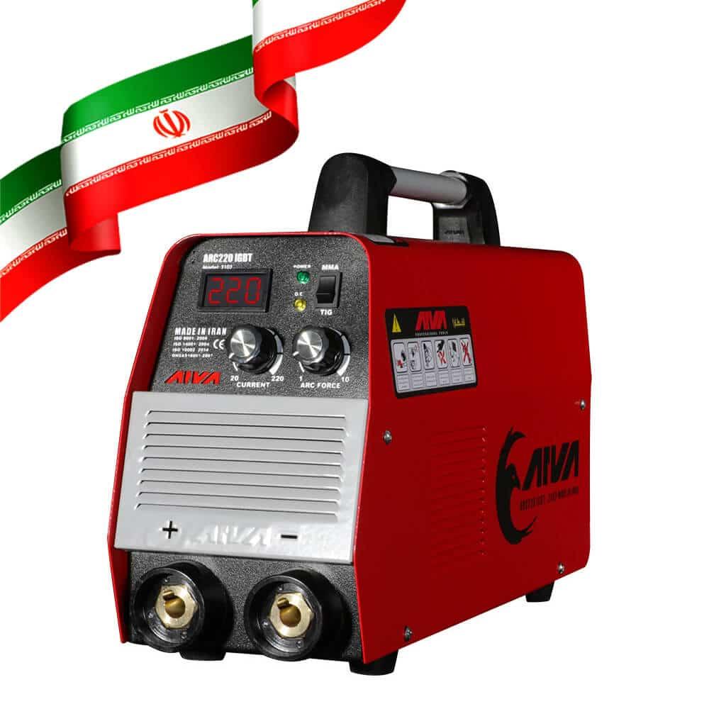 دستگاه اینورتر جوشکاری 220 آمپر IGBT ساخت ایران مدل 2102