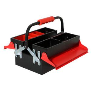 جعبه ابزار فلزی ۳۰ سانت ۲ طبقه مدل ۴۷۰۲